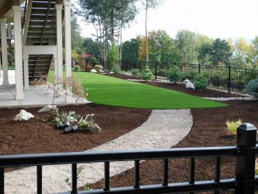 Artificial Grass Photos: Artificial Grass Carpet Apple Valley, California Backyard Deck Ideas, Backyard Garden Ideas