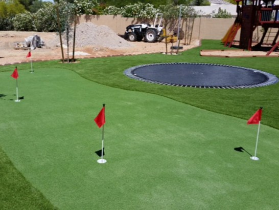 Artificial Grass Installation Rubidoux, California Backyard Putting Green, Backyard Landscaping artificial grass