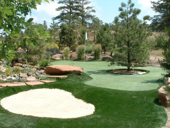 Artificial Grass Photos: Artificial Grass Installation Twentynine Palms, California Landscape Rock, Backyard Ideas