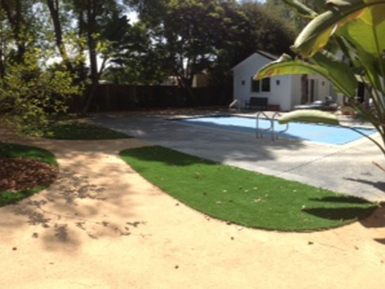 Artificial Turf Installation Lake Arrowhead, California Lawn And Landscape, Natural Swimming Pools artificial grass