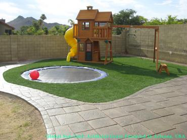 Artificial Grass Photos: Fake Turf Lake Arrowhead, California Design Ideas, Backyard Landscape Ideas