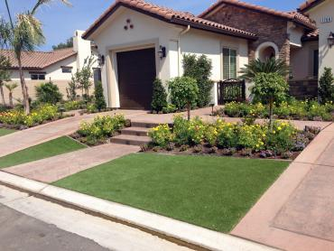 Artificial Grass Photos: Grass Installation Palmdale, California Landscape Design, Front Yard Landscaping