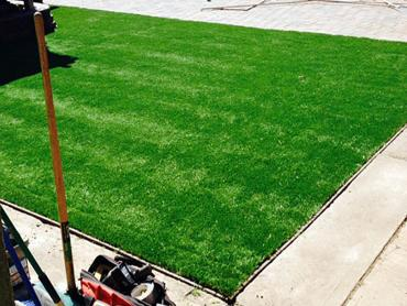 Grass Installation Wildomar, California Paver Patio artificial grass