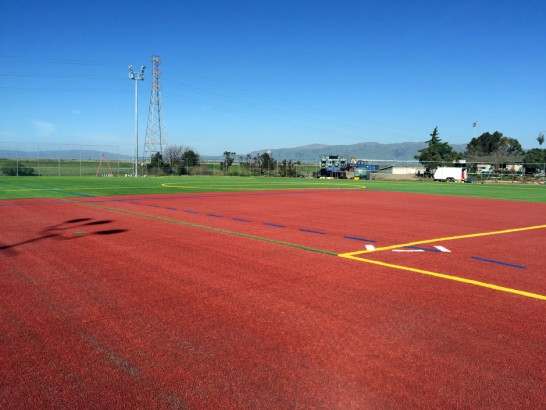 Artificial Grass Photos: Grass Turf Westmont, California Softball