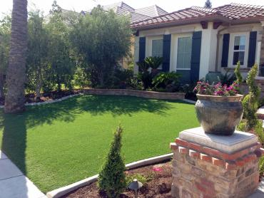 Artificial Grass Photos: Green Lawn Santa Fe Springs, California Paver Patio, Front Yard Ideas