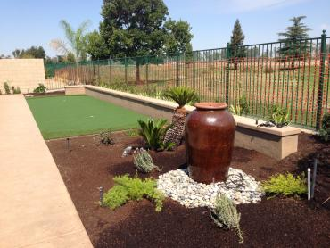 Artificial Grass Photos: Synthetic Grass Cost Compton, California Office Putting Green, Backyard Landscaping Ideas