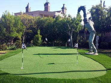 Artificial Grass Photos: Synthetic Grass Cost East La Mirada, California Putting Green Turf, Backyard Design