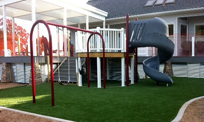 Artificial Grass for Playgrounds in Inland Empire, California